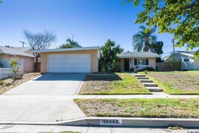 Granada Hills Single Family Home For Sale: 16446 Armstead Street