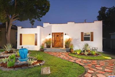 Burbank Single Family Home For Sale: 1238 North Lamer Street
