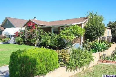 Burbank Single Family Home For Sale: 1030 North Parish Place