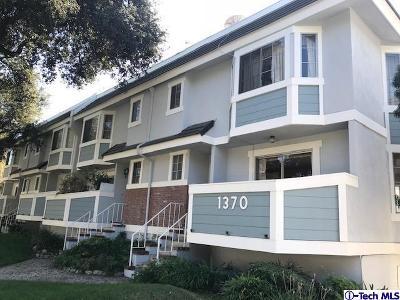 Pasadena Condo/Townhouse For Sale: 1370 East Orange Grove Boulevard #16