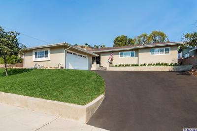 Burbank Single Family Home For Sale: 3010 Trudi Lane