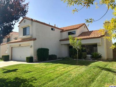 Lancaster CA Single Family Home Sold: $350,000