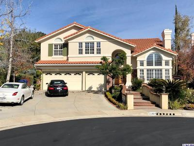 Porter Ranch CA Single Family Home For Sale: $1,199,000