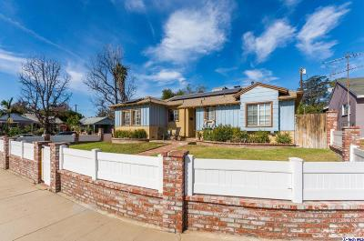 North Hollywood Single Family Home Active Under Contract: 12645 Divan Place