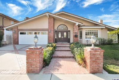 Burbank Single Family Home For Sale: 2843 Joaquin Drive