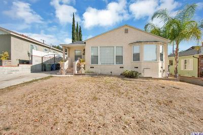 Burbank Single Family Home For Sale: 2640 North Keystone Street