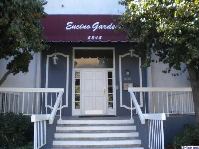 Encino Condo/Townhouse Sold: 5343 Yarmouth Avenue #103