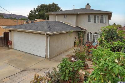 Sunland Single Family Home For Sale: 10663 Mather Avenue