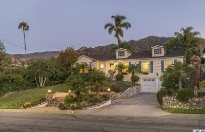 Burbank Single Family Home For Sale: 610 South Sunset Canyon Drive