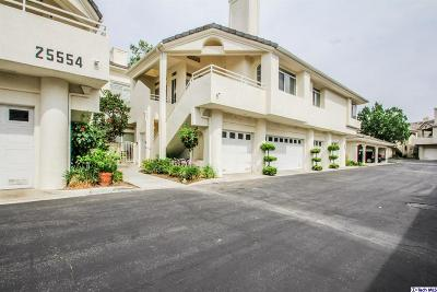 Stevenson Ranch Condo/Townhouse For Sale: 25554 Hemingway Avenue #G