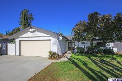 Northridge Single Family Home For Sale: 18615 Community Street