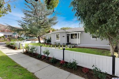 Burbank Single Family Home For Sale: 536 Irving Drive