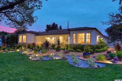 Burbank Single Family Home For Sale: 741 Roselli Street
