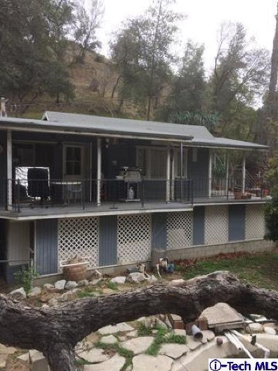 Tujunga Single Family Home For Sale: 10400 Blue Gum Canyon Rd Road