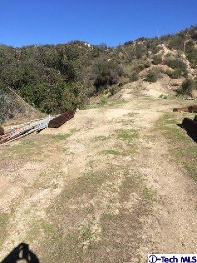 Tujunga Residential Lots & Land For Sale: Blue Gum Canyon Road