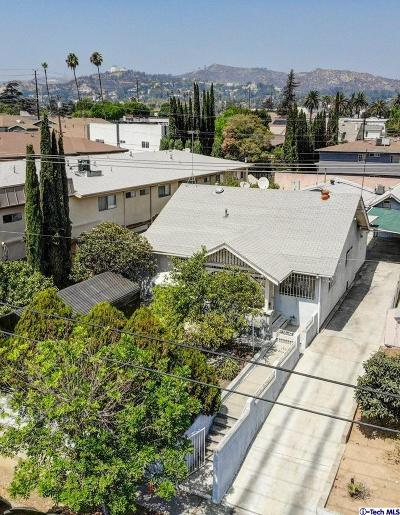 Los Feliz Single Family Home For Sale: 4427 Prospect Avenue