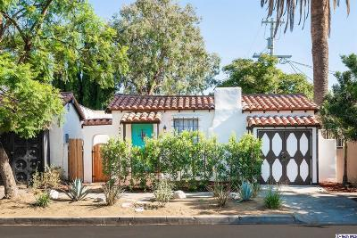 Los Angeles County Single Family Home For Sale: 7212 Willoughby Avenue