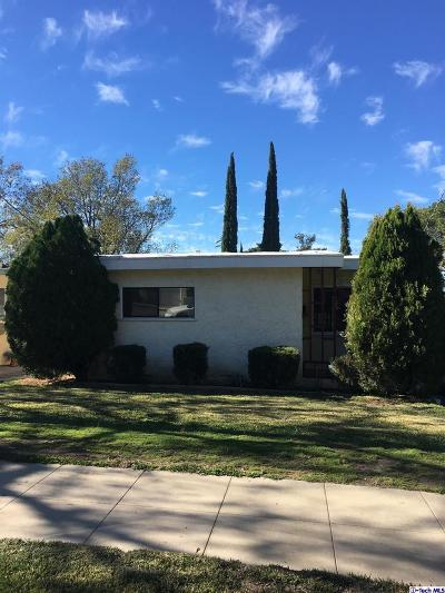 Tujunga Single Family Home Active Under Contract: 10617 Commerce Ave Avenue