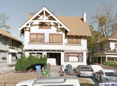 Mid Los Angeles (C16) Single Family Home For Sale: 1238 Magnolia Avenue