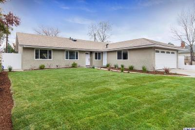 Single Family Home For Sale: 13136 Gridley Street