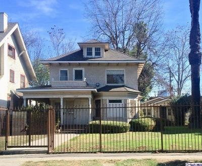 Mid Los Angeles (C16) Single Family Home For Sale: 1248 Magnolia Avenue