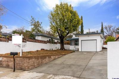 Tujunga Single Family Home Active Under Contract: 10342 McClemont Avenue
