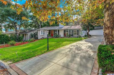 La Canada Flintridge CA Single Family Home For Sale: $1,299,000