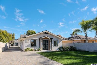 Single Family Home For Sale: 6938 Peach Street