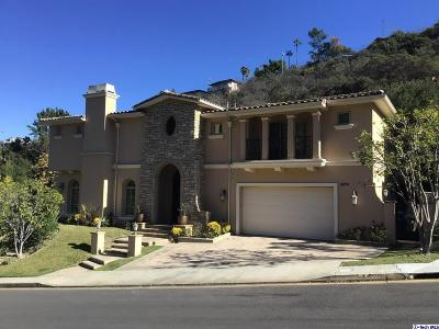 Los Angeles County Single Family Home For Sale: 3698 Benedict Canyon Lane