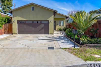 Sunland Single Family Home For Sale: 10410 Whitegate Ave Avenue