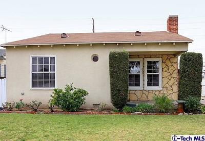 Glendale Single Family Home Active Under Contract: 733 Dale Avenue