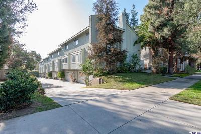 Pasadena Condo/Townhouse For Sale: 1454 East Orange Grove Boulevard #4