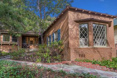 Glendale Single Family Home For Sale: 2801 East Chevy Chase Drive