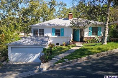 Glendale Single Family Home Active Under Contract: 1831 Arvin Drive