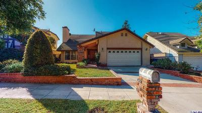 Burbank Single Family Home Active Under Contract: 2639 Woodstock Lane