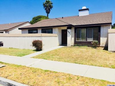 Oxnard Single Family Home For Sale: 1640 Masthead Drive