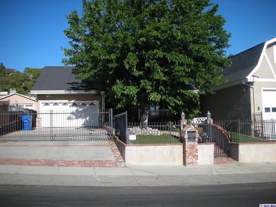 Tujunga Single Family Home For Sale: 10162 Breidt Avenue