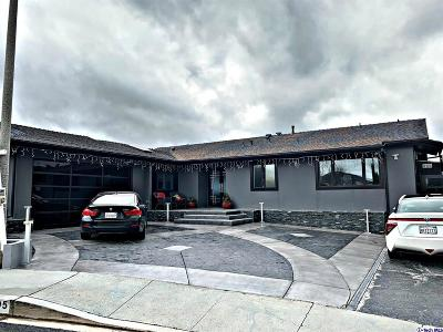 Tujunga Single Family Home For Sale: 9305 Crystal View Drive