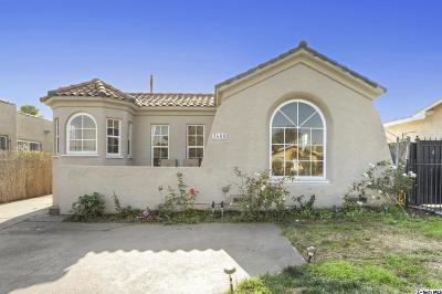 Los Angeles Single Family Home For Sale: 1608 West 71st Street