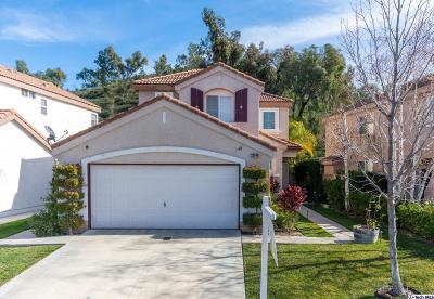 Valencia Single Family Home For Sale: 23648 Silverhawk Place