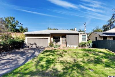 Glendale Single Family Home For Sale: 3327 Park Vista Drive