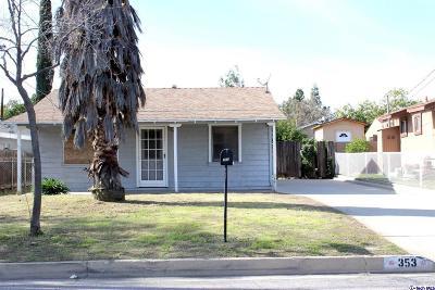 Azusa Single Family Home For Sale: 353 Zachary Padilla Avenue