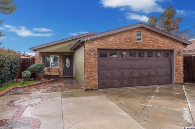 Sunland Single Family Home For Sale: 10431 Jardine Avenue