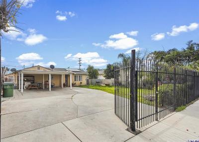 Pacoima Single Family Home For Sale: 13666 Pinney Street