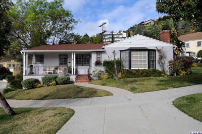Glendale Single Family Home For Sale: 725 Glenmore Boulevard