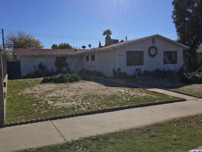 Sylmar Single Family Home Active Under Contract: 12232 Van Nuys Boulevard