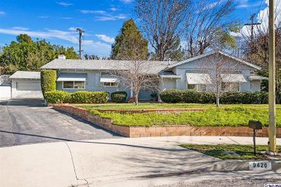 Tujunga Single Family Home Active Under Contract: 9420 La Reina Place