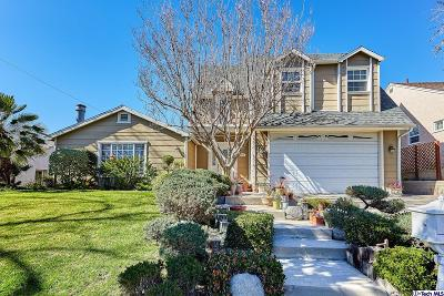 Burbank Single Family Home For Sale: 925 Uclan Drive
