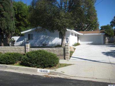 Granada Hills Single Family Home For Sale: 12400 El Oro Way