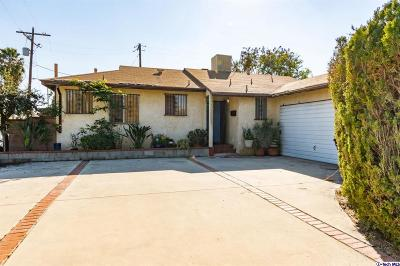 North Hollywood Single Family Home For Sale: 12934 Cantara Street